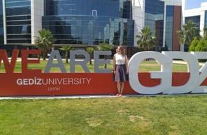 "English Instructor Burcu Doğan has Attended ""Glocalisation of Professional Development"" Conference"